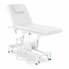 Massageliege PHYSA LYON WHITE - elektrisch